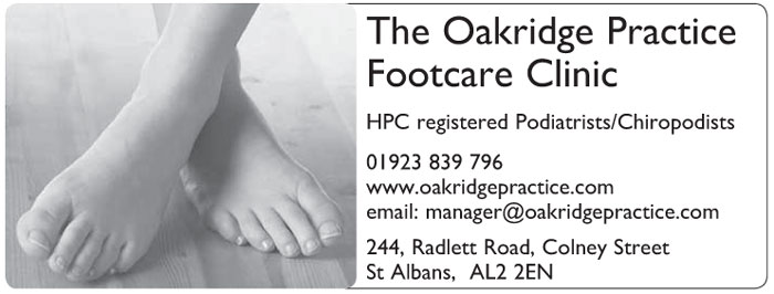 The Oakridge Practice Footcare Clinic